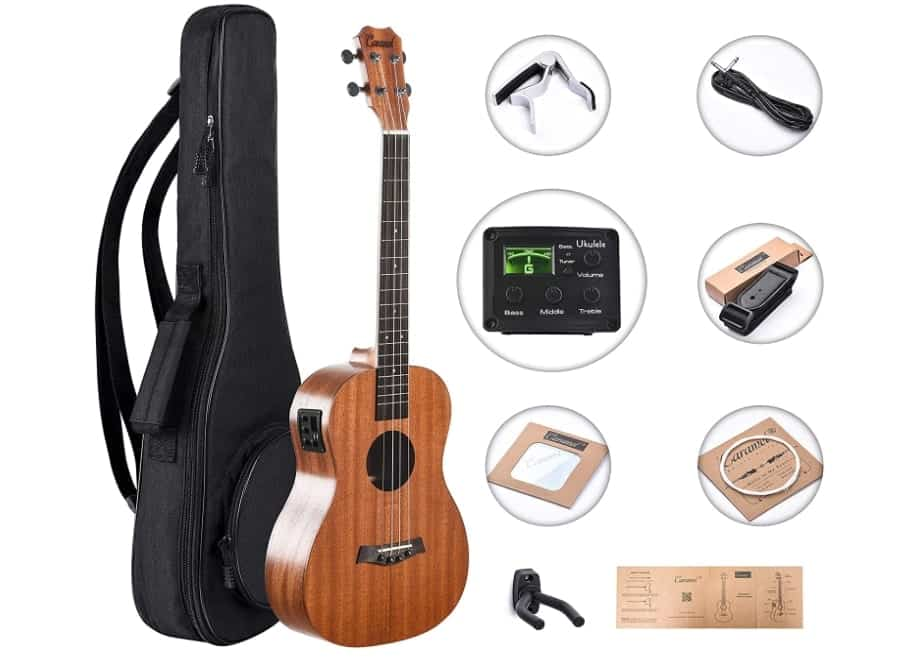 BARITONE ELECTRIC UKULELE
