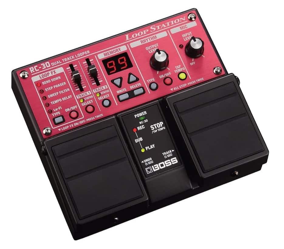 BOSS RC-30  - bass loop pedal