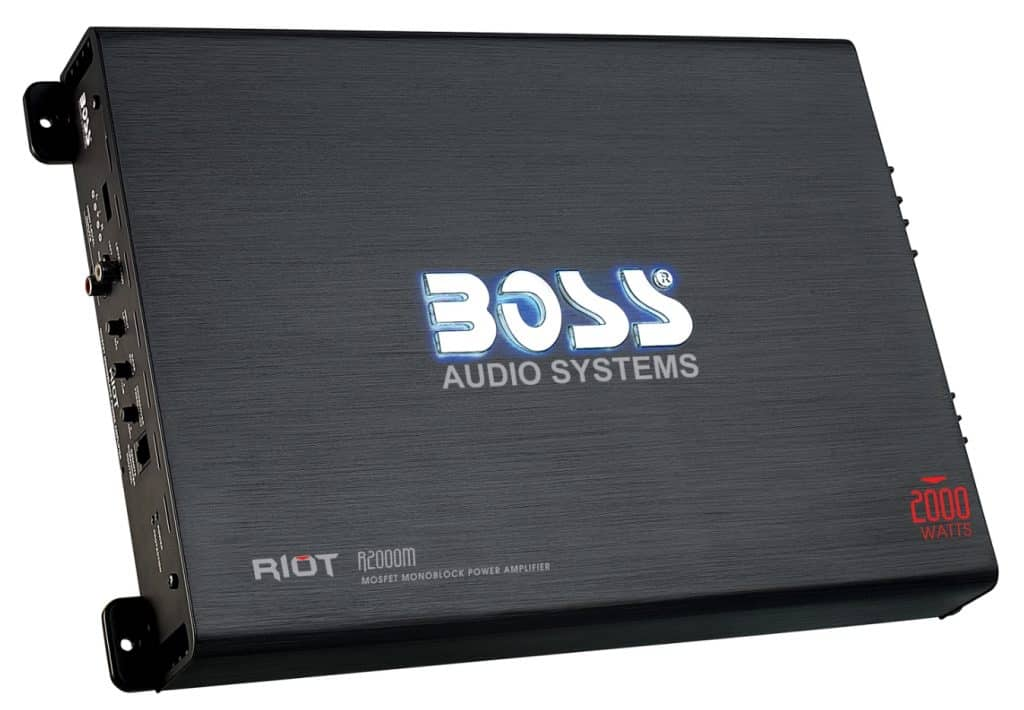 BOSS RIOT - Best 2000W AMP