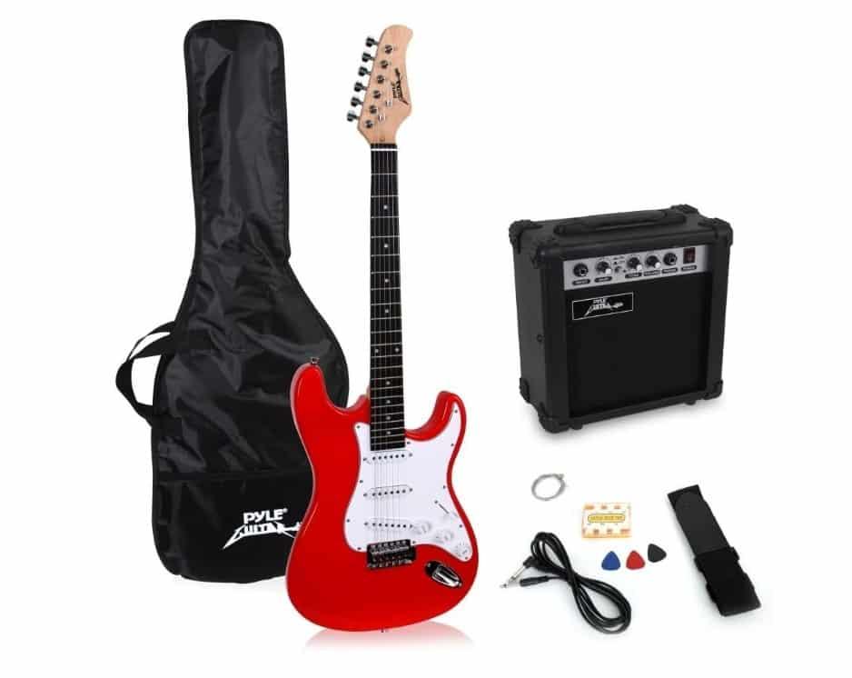 pylepro - best beginner electric guitar packages