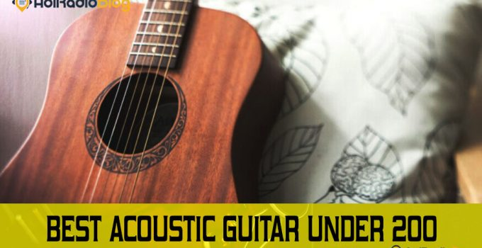 Best acoustic guitar under 200