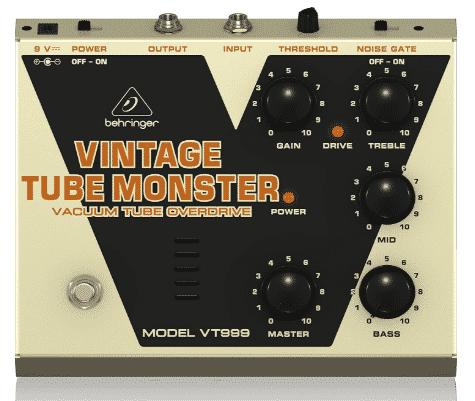 BEHRINGER VINTAGE - best amp in a box pedals