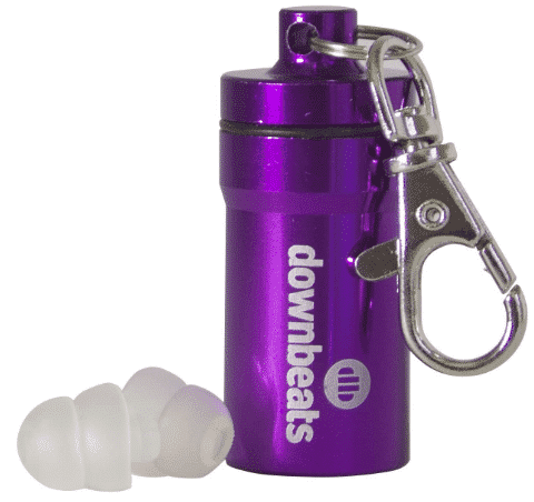 DOWNBEATS - best earplugs for concerts