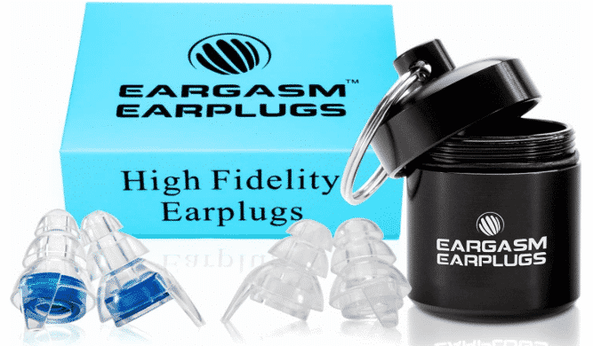 EARGASM HIGH - best earplugs for concerts