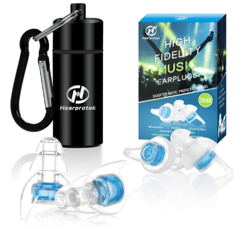 HEARPROTEK HIGH - best earplugs for concerts
