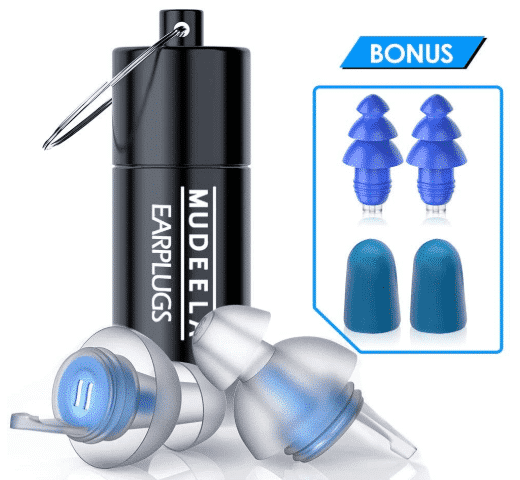 MUDEELA HIGH - best earplugs for concerts