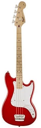 SQUIER BY FENDER - Best Short Scale Bass Under $500