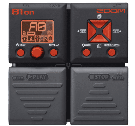 ZOOM B1ON - BEST MULTI-EFFECTS PEDAL UNDER 200