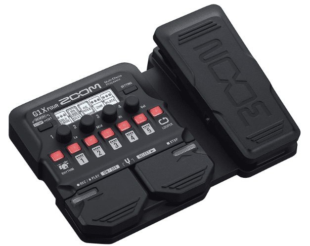 ZOOM G1X - BEST MULTI-EFFECTS PEDAL UNDER 200