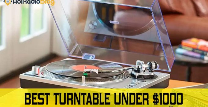best turntable under 1000