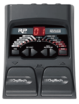 DIGITECH RP55 - best acoustic guitar pedals