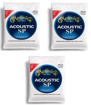 MARTIN ACOUSTIC - best acoustic guitar strings for beginners
