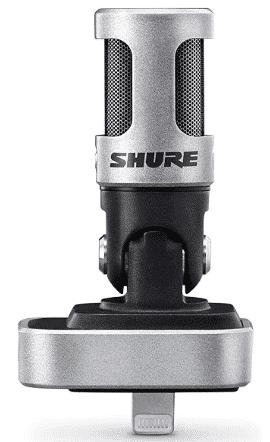 Shure MV88 - best mic for acoustic guitar