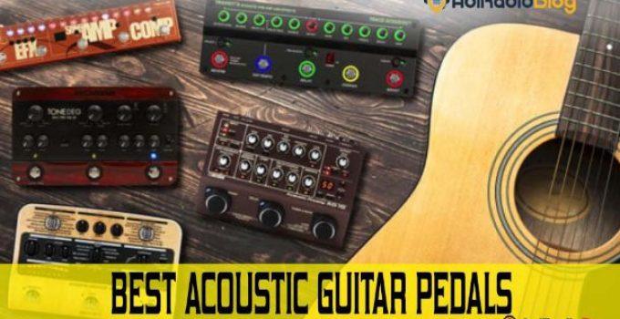 Best Acoustic Guitar Pedals