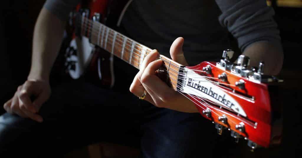 electric guitar practice