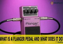 what is a flanger pedal