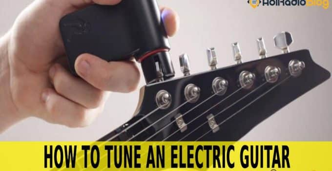 how to tune an electric guitar