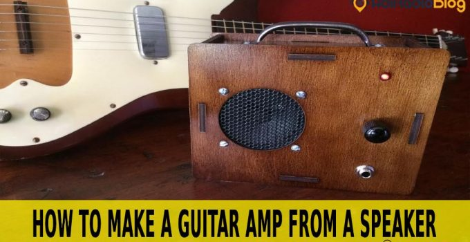 how to make a guitar amp from a speaker