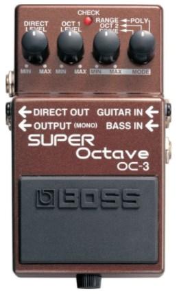 BOSS OC-3-best bass octave pedal