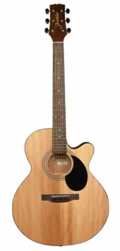 Jasmine S34C - best thin body acoustic guitar