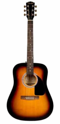 Fender FA-115 - best thin body acoustic guitar