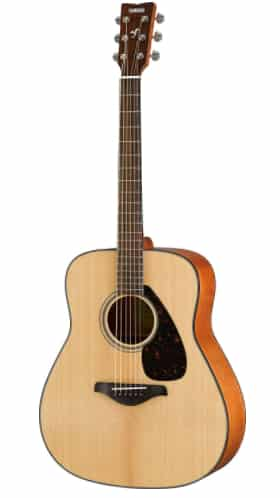 YAMAHA FG800 - best guitars for fingerstyle