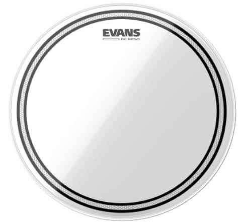 Evans TT12ECR EC - best drum heads for metal