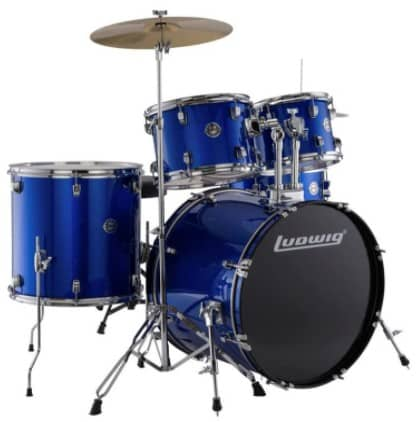 Ludwig Accent Drive Blue