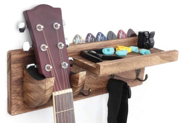 Bikoney - best guitar wall hanger