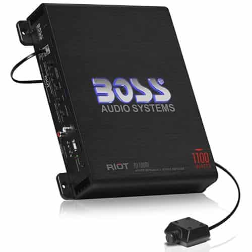 BOSS AUDIO - BEST CAR AMPS FOR BASS
