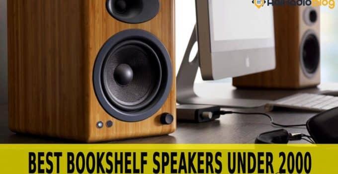 best bookshelf speakers under 2000