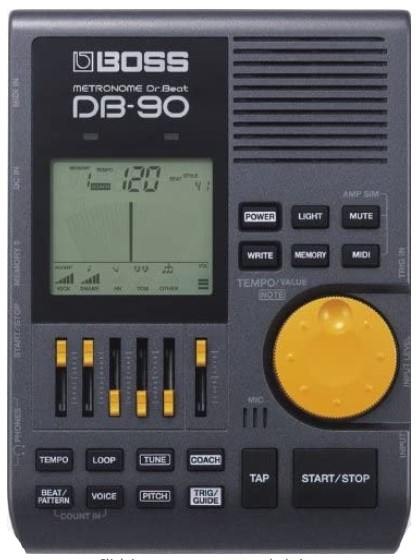 db90 - best metronome for drummers