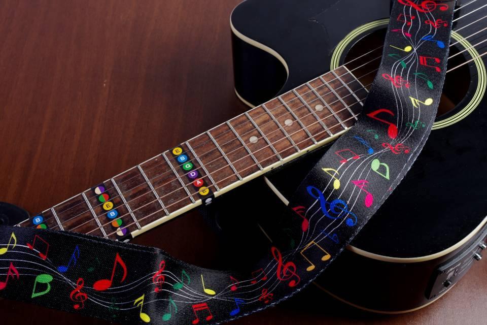 best acoustic guitar strap