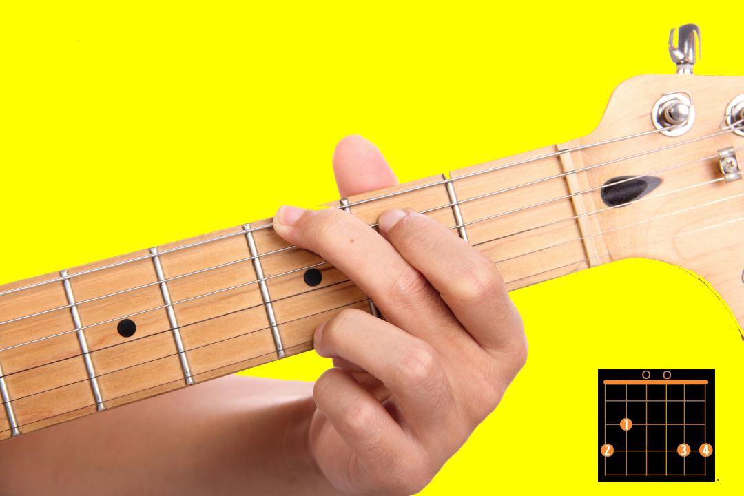 guitar chord  - g chord