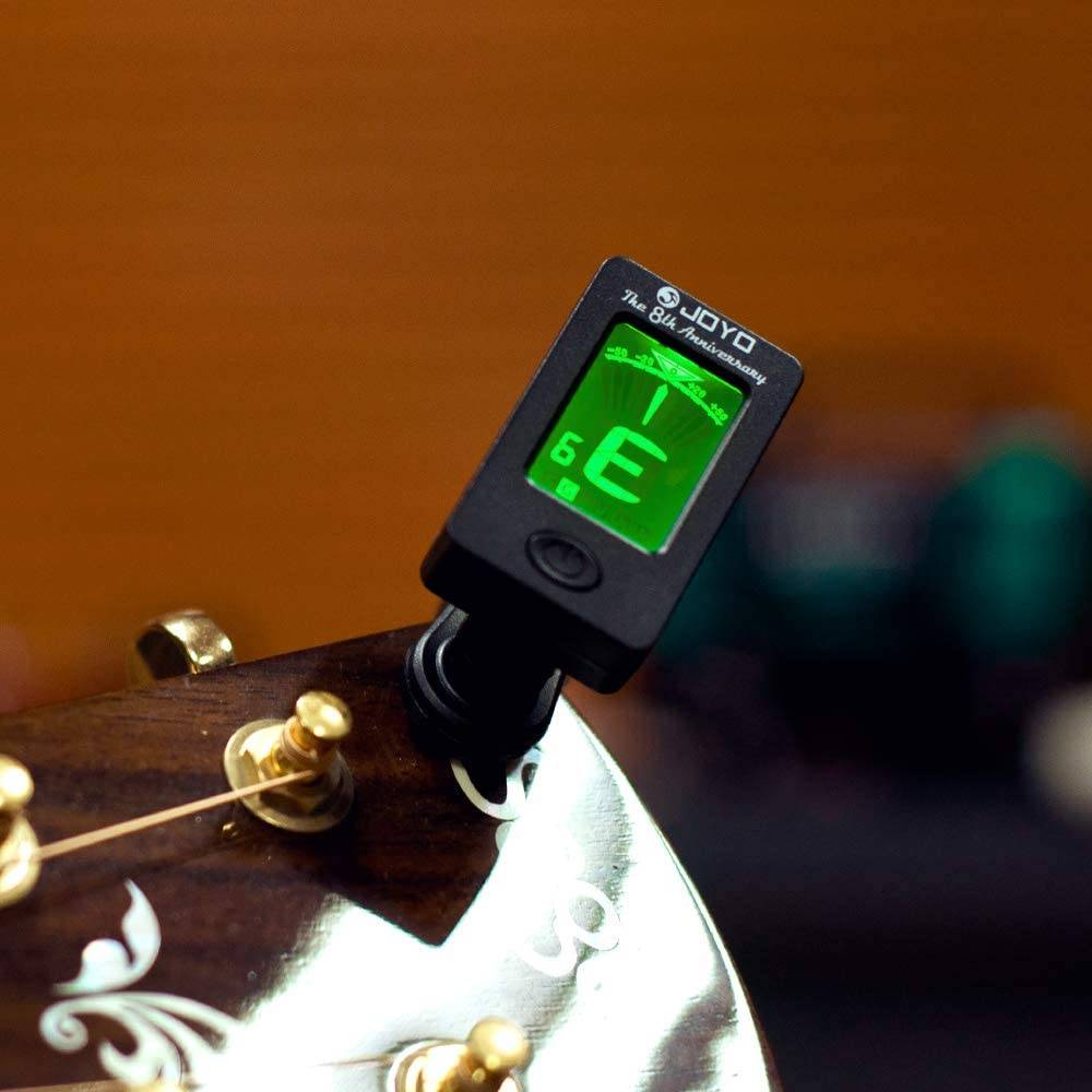 electronic tuner - how to tune a banjo